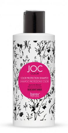 BAREX Шампунь для волос Стойкость цвета, абрикос и миндаль / JOC COLOR 250 мл