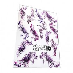 Vogue Nails, Слайдер-дизайн №225