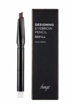 Карандаш для бровей (запаска) The Face Shop Designing EyeBrow Pencil 04 BLACK BROWN REFILL 0.3 гр