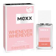 Туалетная вода MEXX WHENEVER WHEREVER жен. 15 мл