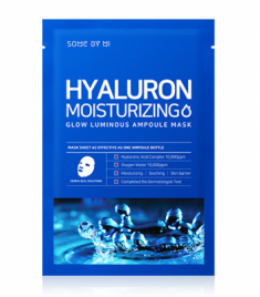 Маска тканевая увлажняющая SOME BY MI Hyaluron Moisturizing Glow Luminous Ampoule Mask