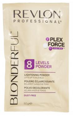 REVLON Professional Пудра осветляющая нелетучая для волос / BLONDERFUL 8 LIGHTENING POWDER 20*50 г