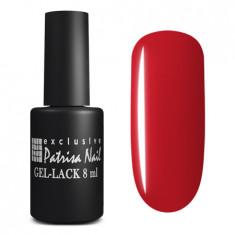 PATRISA NAIL 154 гель-лак для ногтей, красная тональность / Axios Gel 8 мл