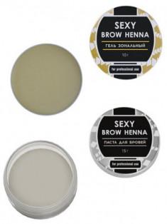 Набор для идеального контура бровей BROW HENNA Innovator Cosmetics