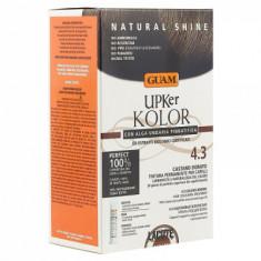 Краска для волос GUAM UPKer KOLOR Каштановый золотистый 4.3 215мл