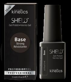 KINETICS База каучуковая сверхстойкая для поврежденных и проблемных ногтей / SHIELD Strong Base 15 мл