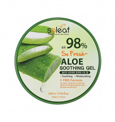 успокаивающий гель с алоэ soleaf so fresh aloe soothing gel