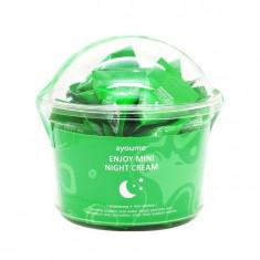 ночной крем для лица с центеллой азиатской ayoume enjoy mini night cream