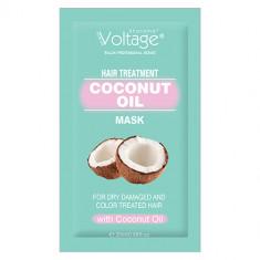 Маска для волос KHARISMA VOLTAGE с кокосовым маслом для сухих, поврежденных и окрашенных волос 20 мл