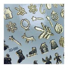 Anna Tkacheva, 3D-слайдер Gold Crystal №95