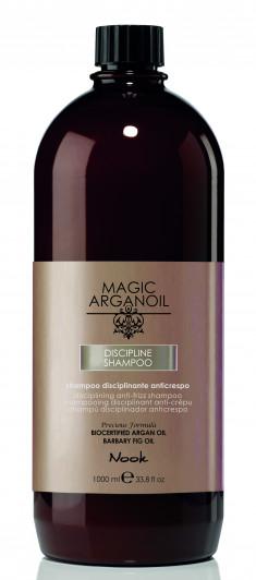 NOOK Шампунь для ухода за непослушными волосами / Disciplining anti-frizz Shampoo MAGIC ARGANOIL 1000 мл
