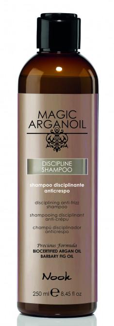 NOOK Шампунь для ухода за непослушными волосами / Disciplining anti-frizz Shampoo MAGIC ARGANOIL 250 мл