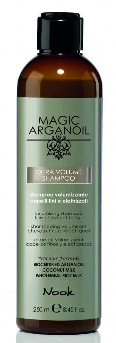 NOOK Шампунь для придания объема тонким и наэлектризованным волосам / Extra Volume Shampoo MAGIC ARGANOIL 250 мл