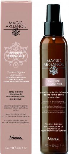NOOK Спрей разглаживающий с термозащитным действием для непослушных волос / Disciplining thermal smooting spray MAGIC ARGANOIL 150 мл