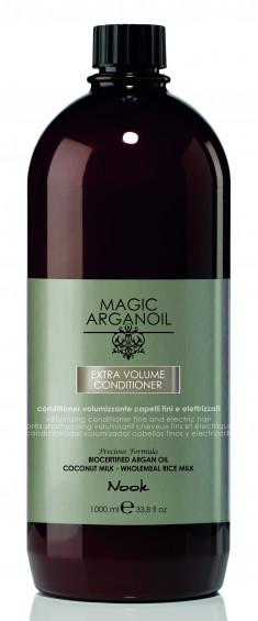 NOOK Кондиционер для придания объема тонким и наэлектризованным волосам / Extra Volume Latte Condtioner MAGIC ARGANOIL 1000 мл