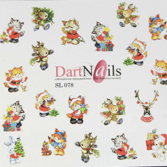 DartNails, Слайдер-дизайн Art-Fashion №78