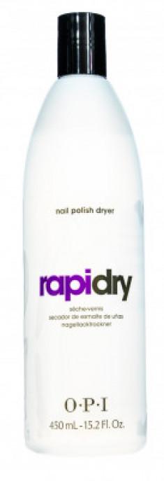 Жидкость для быстрого высыхания лака OPI RapiDry Spray Nail Polish Dryer 450 мл