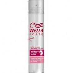 Лак для волос для волос средней длины супер-сильной фиксации Wella