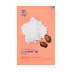 Маска тканевая питающая с маслом Ши Holika Holika Pure Essence Mask Sheet Shea Butter 20мл
