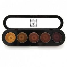 Палетка помад, 5 цветов Make-Up Atelier Paris №23 античная жемчужина 10 г