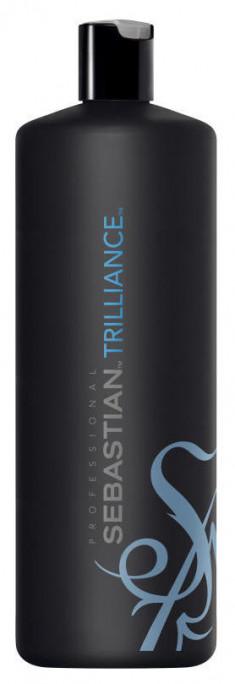 SEBASTIAN PROFESSIONAL Шампунь с экстрактом горного хрусталя для ошеломляющего блеска волос / Trilliance FOUNDATION 1000 мл