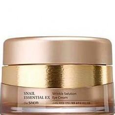 Крем для глаз антивозрастной Snail Essential EX Wrinkle Solution Eye Cream The Saem