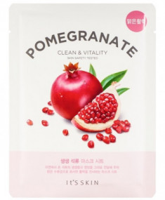 Тканевая маска укрепляющая с гранатом It'S SKIN The Fresh Pomegrante Mask Sheet 20 г