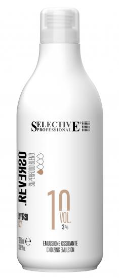 SELECTIVE PROFESSIONAL Эмульсия окисляющая 3% (10 vol) / REVERSO OXY 1000 мл