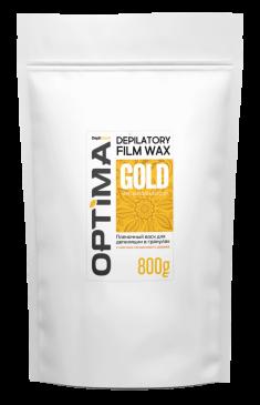 DEPILTOUCH PROFESSIONAL Воск пленочный в гранулах, с маслом сандалового дерева / OPTIMA GOLD 800 г