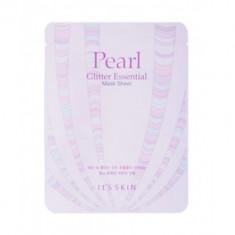 Тканевая маска жемчужная It's Skin Glitter Essential Mask Sheet 22г It'S SKIN