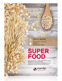 Маска для лица тканевая с овсом EYENLIP SUPER FOOD OATS MASK 23мл