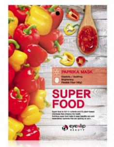 Маска для лица тканевая с паприкой EYENLIP SUPER FOOD PAPRIKA MASK 23мл