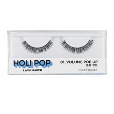 Накладные ресницы HOLI POP LASH MAKER 01 VOLUME POP UP Holika Holika