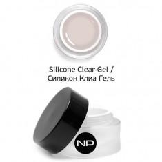 Nano professional, silicone clear gel, укрепляющий гель, 15 мл