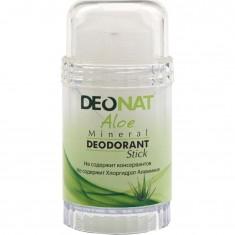 Дезодорант-Кристалл с натуральным экстрактом алоэ и глицерином стик DeoNat