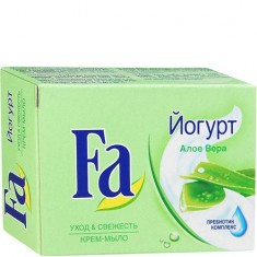Кусковое мыло Yoghurt Алоэ вера FA